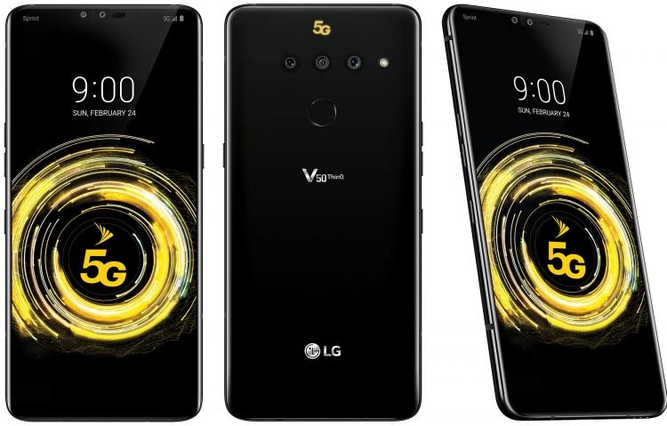 LGV50 ThinQ: поддержка 5G иподключаемый дисплей