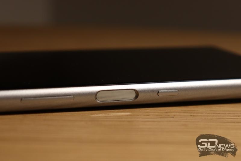 Сканер отпечатков на Sony Xperia 10 Plus