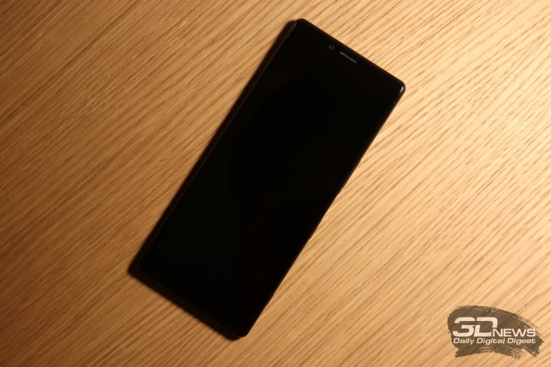 Съемка на Sony Xperia 10 Plus в формате 21:9