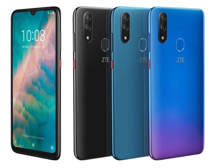 "MWC 2019: смартфон среднего уровня ZTE Blade V10 оснащён 32-Мп селфи-камерой"""