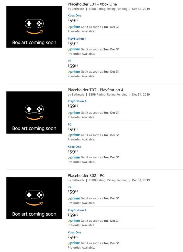 "Bethesda Softworks на Amazon случайно «засветила» Fallout для ПК, PS4 и Xbox One"""