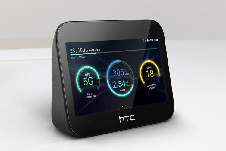 "MWC 2019: HTC 5G Hub, или Гибрид хот-спота и развлекательного Android-устройства"""