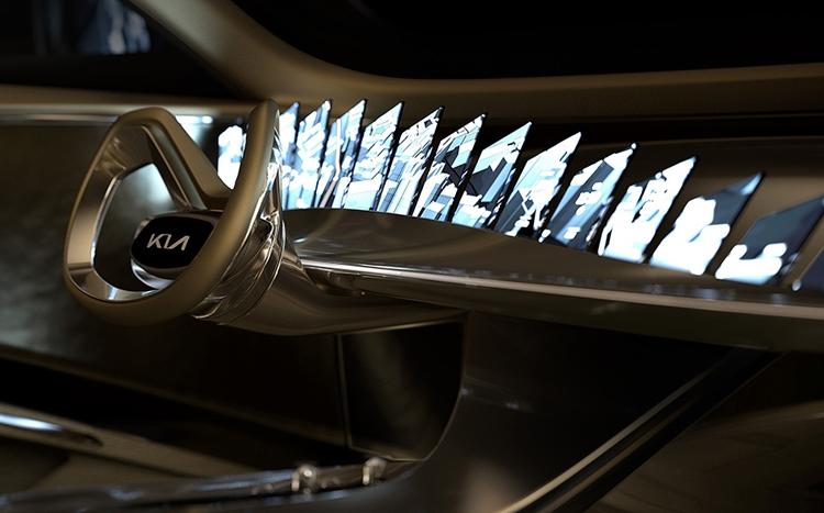"""Новый электромобиль KIA объединяет элементы спорткара, седана и кроссовера"""""""