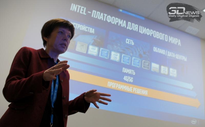 Марина Алексеева, вице-президент и генеральный директор Intel R&D в России