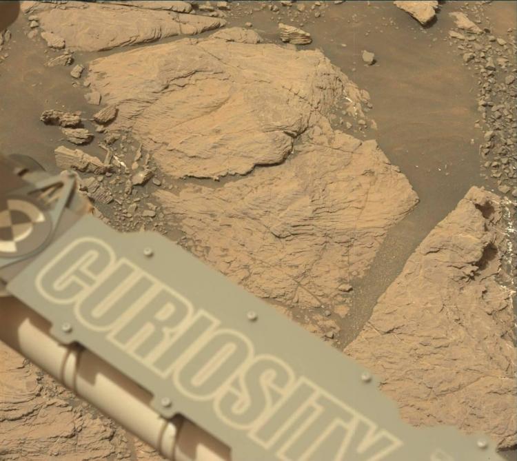 """Фото дня: марсоход Curiosity добрался до глинистой местности"""""""