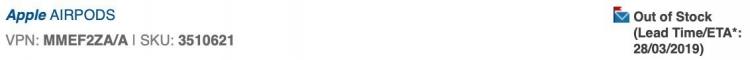 """Ресурс Applesfera нашёл подтверждение выхода AirPods 2 в марте"""""""