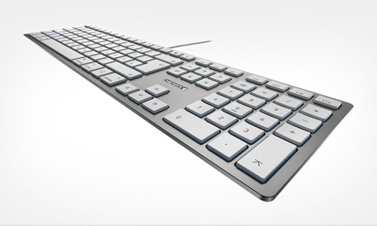 """Толщина клавиатуры Cherry KC 6000 Slim For Mac составляет 15 мм"""""""