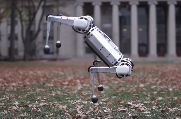 """Видео дня: сальто назад в исполнении робота-гепарда"""""""