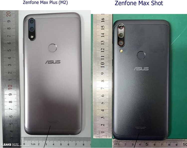 "Раскрыт дизайн смартфонов ASUS Zenfone Max Plus M2 и Max Shot"""