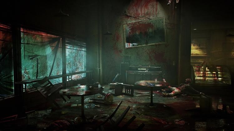 Возможно, первый концепт-арт новой Vampire: The Masquerade — он был спрятан на сайте www.trustnomore.com, запущенном в рамках ARG-кампании
