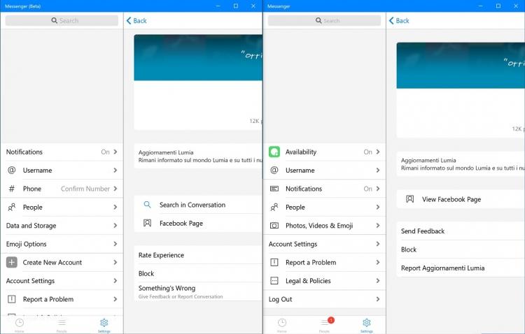"""Facebook Messenger для Windows 10 получил крупное обновление"""""""