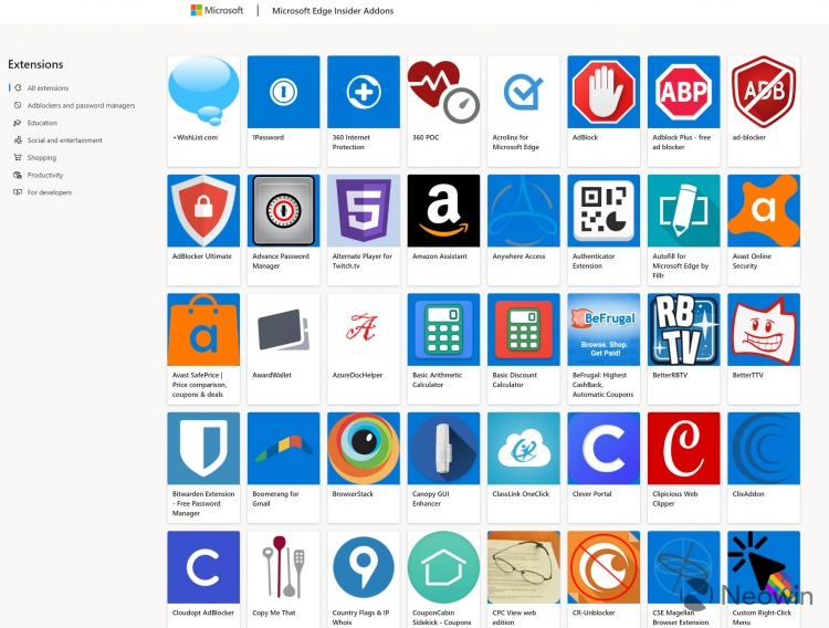 """Вот так будет выглядеть новый браузер Microsoft Edge"""""""