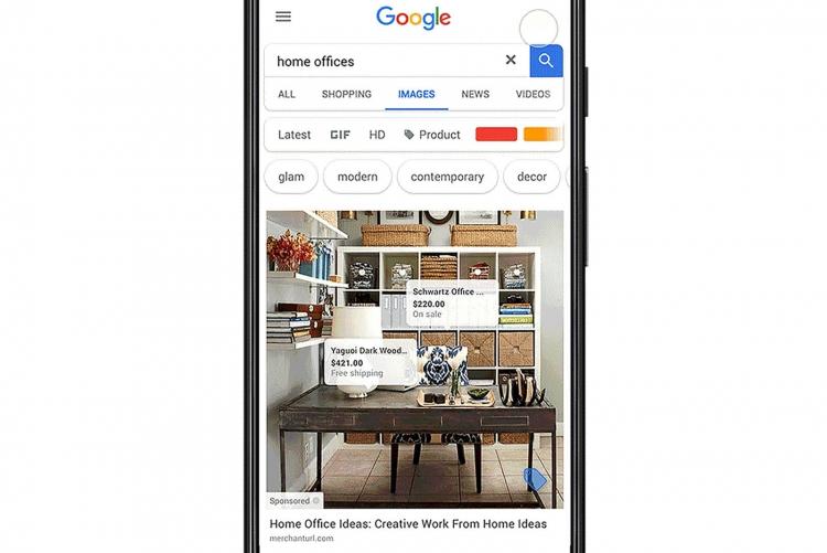 """Google тестирует возможность покупок прямо из поиска картинок"""""""