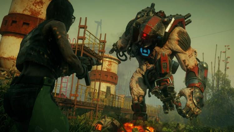 """Видео: разнообразное уничтожение врагов при помощи особых способностей в Rage 2"""""""