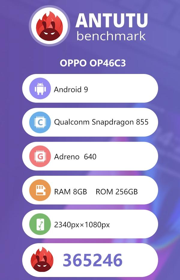 """Загадочный смартфон OPPO с чипом Snapdragon 855 замечен в бенчмарке"""""""