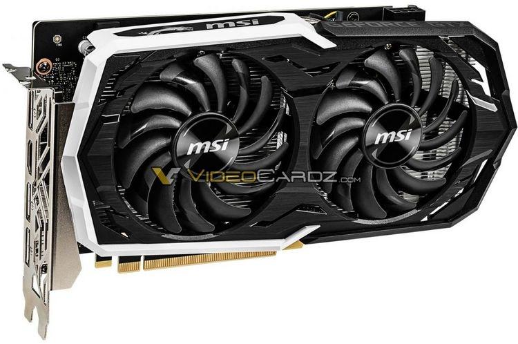 """Изображения видеокарт GeForce GTX 1660 от MSI подтвердили использование в них памяти GDDR5"""""""
