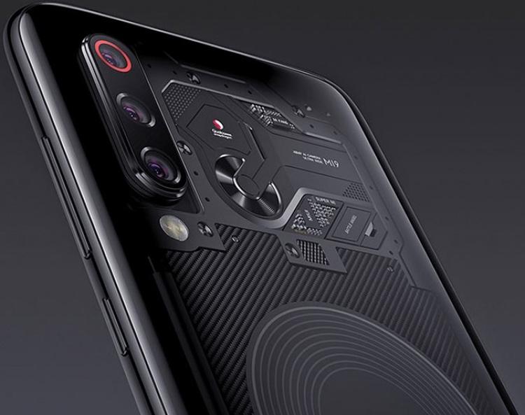 «Прозрачный» смартфон Xiaomi Mi 9 Explorer Edition с 8 Гбайт ОЗУ выйдет в конце марта