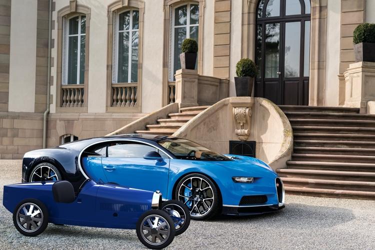 "Bugatti Baby II: электромобиль для детей и взрослых за 30 000 евро"""