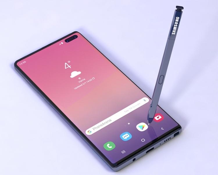 Фаблет Samsung Galaxy Note 10 сможет работать в сетях 5G