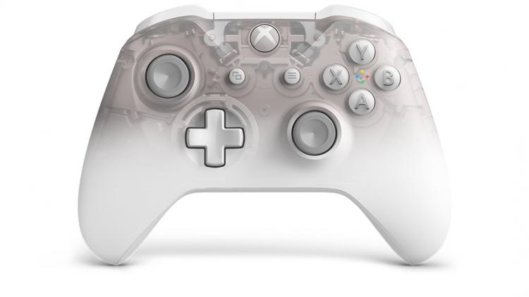 "Microsoft готовит белый «научно-фантастический» контроллер Phantom для Xbox One"""