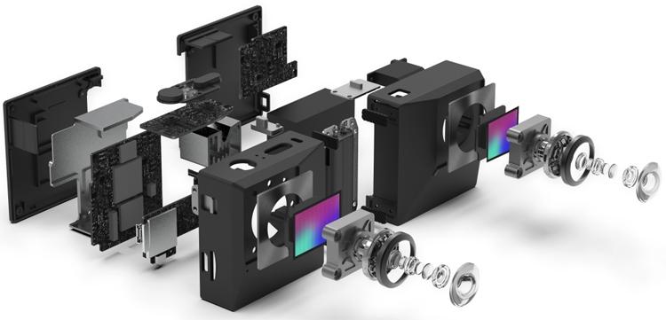 "Insta360 EVO: необычная раскладная камера для 3D-съёмки"""