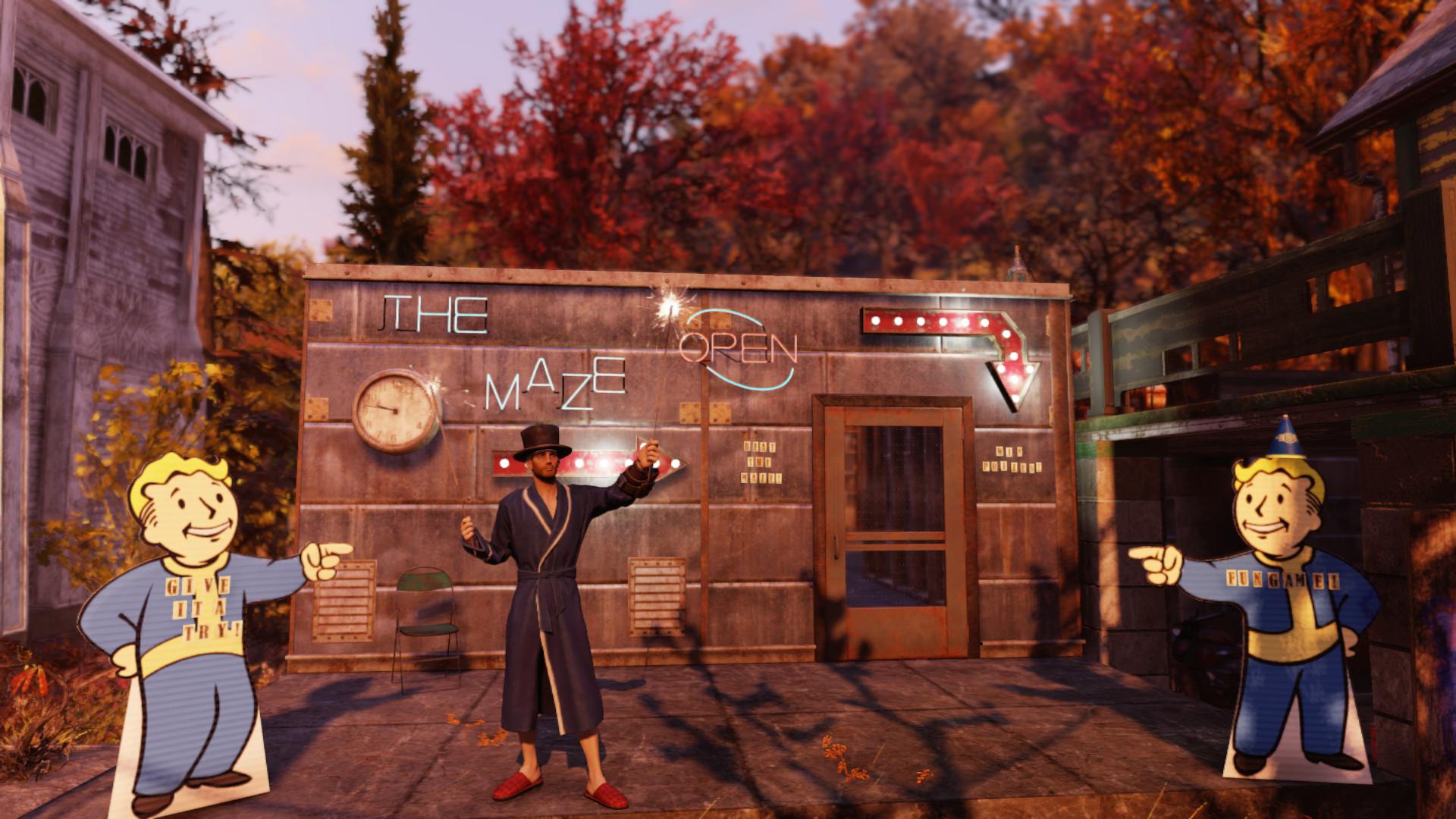 В Fallout 76 геймер заманивал игроков в лабиринт с Когтем смерти, обещая веселье и призы