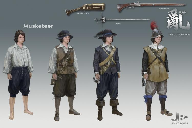 Европейские мушкетёры