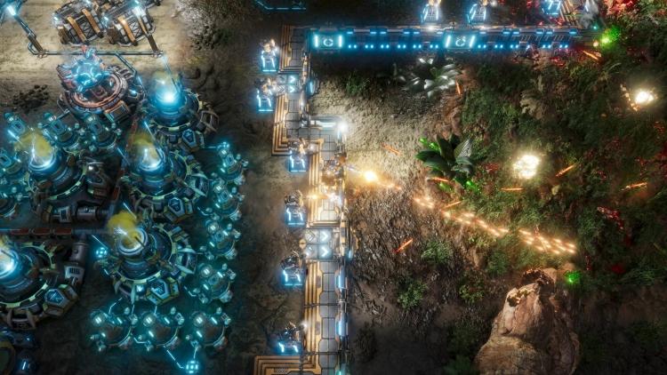 "The Riftbreaker — меха-экшен о постройке базы на далёкой планете"""