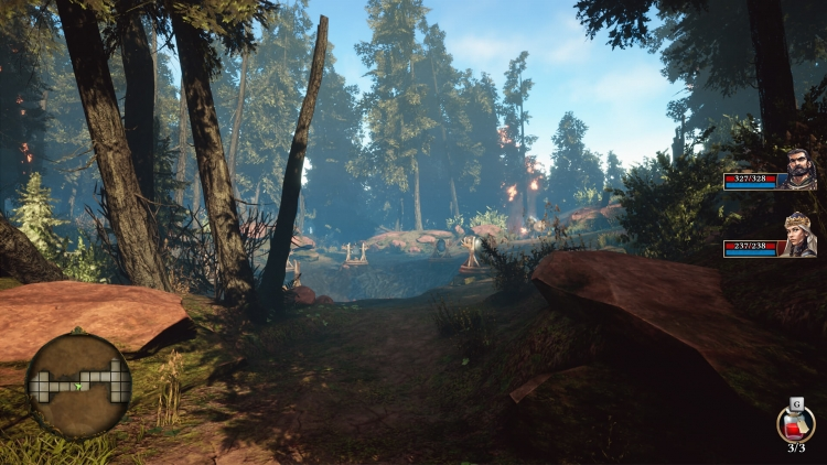 Пошаговая ролевая игра Operencia: The Stolen Sun выйдет на ПК и Xbox One 29 марта