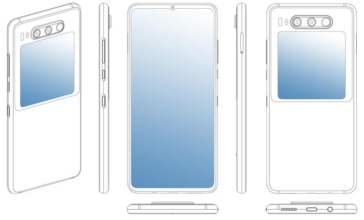 """Тройная камера и экран на обратной стороне: Huawei размышляет над новым смартфоном"""""""