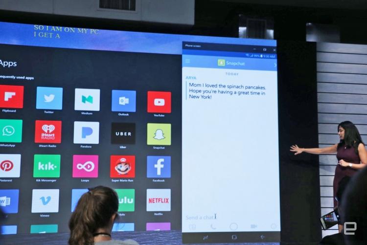 """Windows 10 научили «зеркалировать» экран смартфона на ПК"""""""