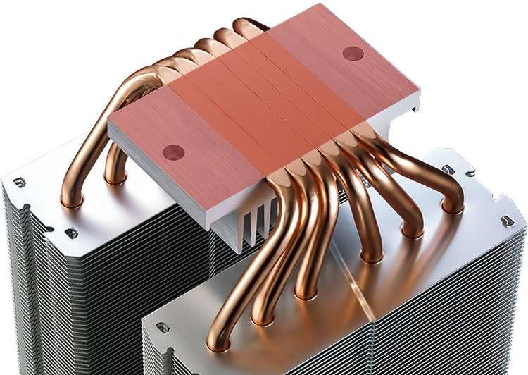 "Cooler Master MasterAir MA621P TR4 Edition: крупная система охлаждения для Ryzen Threadripper"""