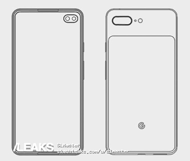 """Две двойные камеры: смартфон Google Pixel 4 XL показался на рендере"""""""