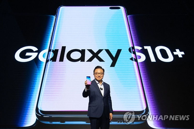 Samsung has allowed to develop unsharp displays with a hidden camera