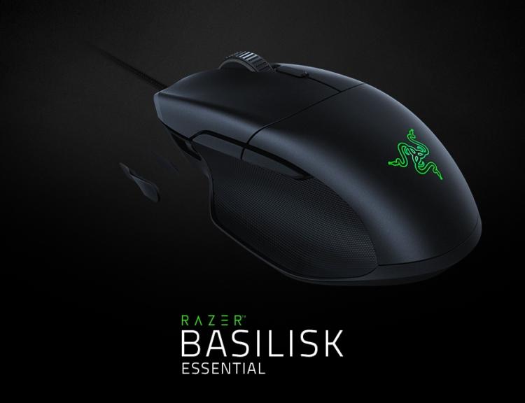 "Трио новинок Razer: клавиатура BlackWidow, гарнитура Kraken и мышь Basilisk Essential"""
