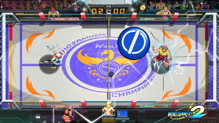 """Видео: спортивные состязания с суперспособностями в Windjammers 2"""""""