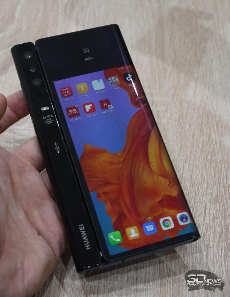 """Huawei Mate X стал первым 5G-телефоном с европейской сертификацией"""""""