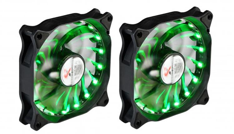 """X2 RGB Zoom: корпусной вентилятор с подсветкой и низким уровнем шума"""""""