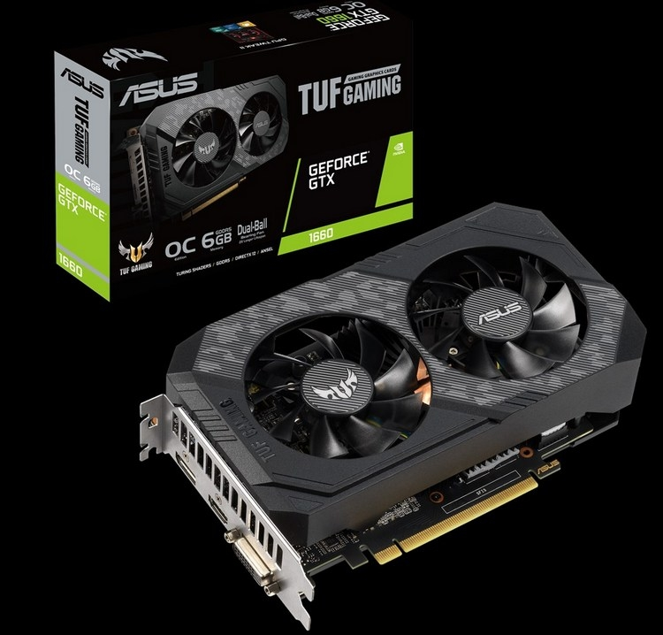 "ASUS представила видеокарты GeForce GTX 1660 серий Phoenix и TUF"""