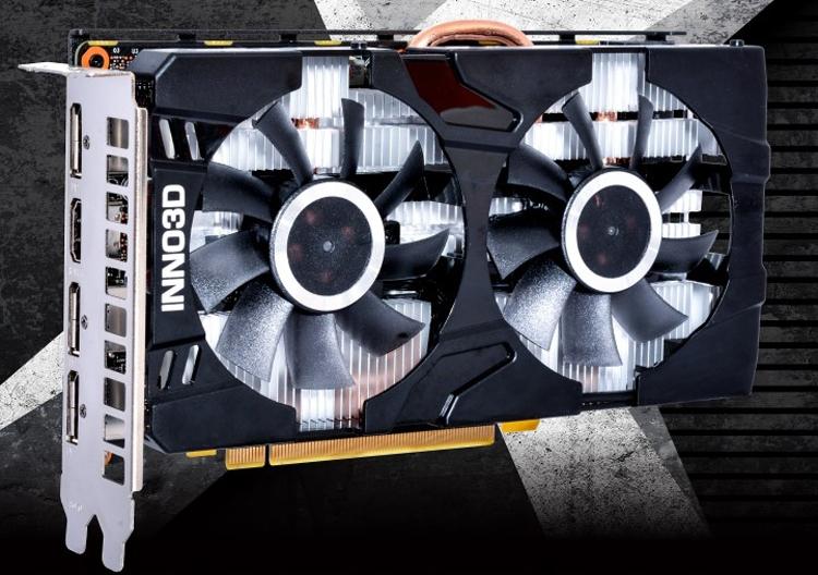 """Ускоритель Inno3D GeForce GTX 1660 Twin X2 имеет длину менее 200 мм"""""""