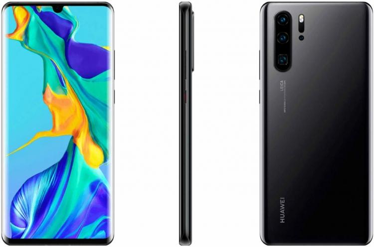 """В Сеть просочились наиболее качественные официальные рендеры Huawei P30 и P30 Pro"""""""