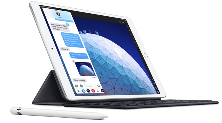 От 500 долларов: новый планшет Apple iPad Air получил 10,5″ экран и процессор A12 Bionic