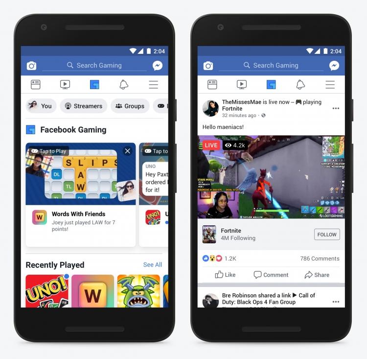 """Facebook готовит отдельное приложение для игр"""""""