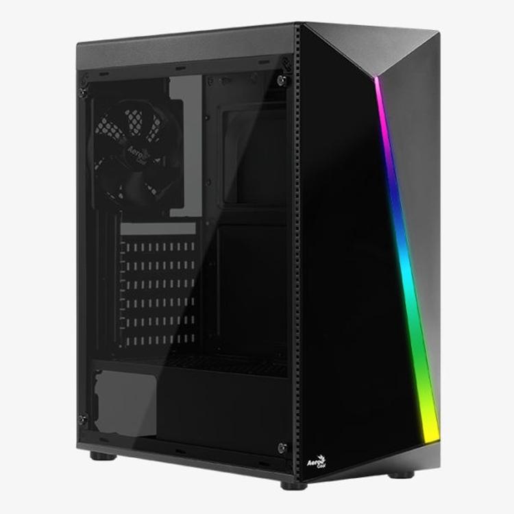 """Aerocool Shard: ПК-корпус с подсветкой RGB и акриловым окном"""""""