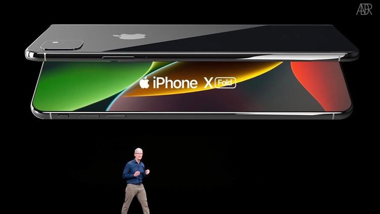 """Складной iPhone X Fold глазами дизайнера"""""""