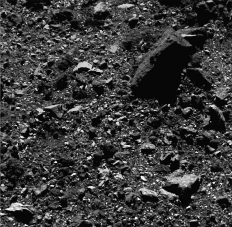 """Фото дня: астероид Бенну крупным планом"""""""