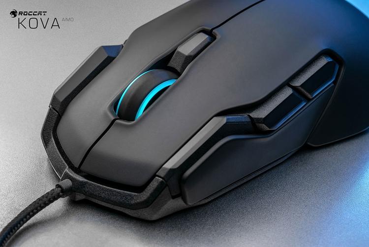 """Мышь для игр Roccat Kova AIMO снабжена подсветкой и датчиком Pro-Optic R6"""""""