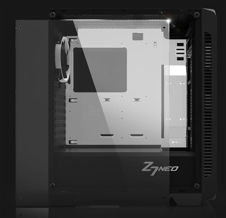 "Zalman Z7 Neo: элегантный ПК-корпус со стеклянными панелями"""