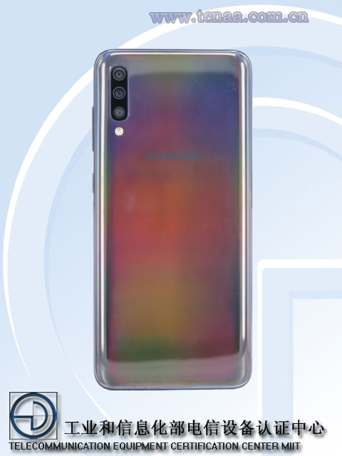 """Регулятор рассекретил смартфон Samsung Galaxy A70 с тройной камерой"""""""