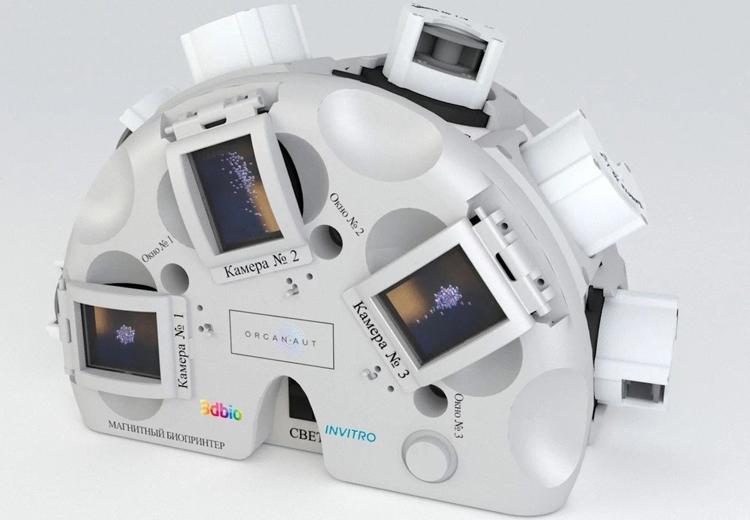 """Разработчик 3D-биопринтера получил лицензию Роскосмоса"""""""